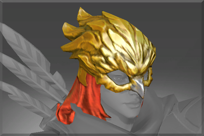 Corrupted Gilded Falcon Helm