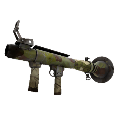 Woodland Warrior Rocket Launcher (Battle Scarred)