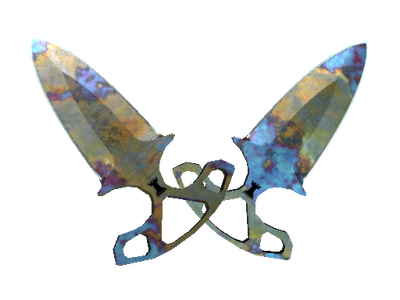 ★ StatTrak™ Shadow Daggers | Case Hardened (Well-Worn)