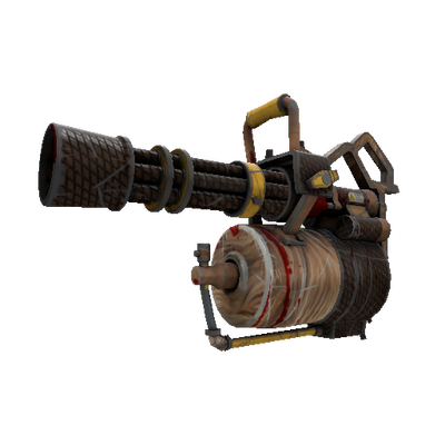 Strange Nutcracker Mk.II Minigun (Battle Scarred)