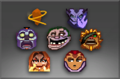 The International 2015 Emoticon Pack II