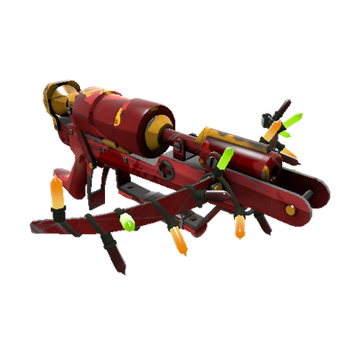 Festivized Gift Wrapped Crusader's Crossbow (Battle Scarred)