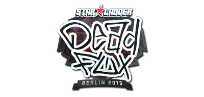 Sticker | DeadFox (Foil) | Berlin 2019