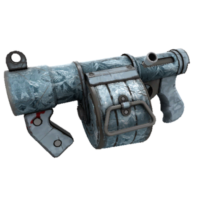Glacial Glazed Stickybomb Launcher (Field-Tested)