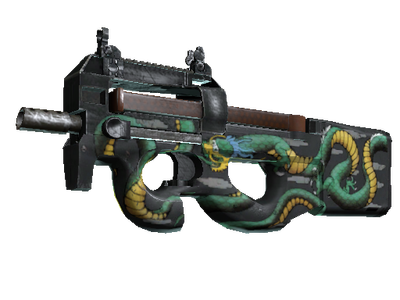 StatTrak™ P90 | Emerald Dragon (Factory New)