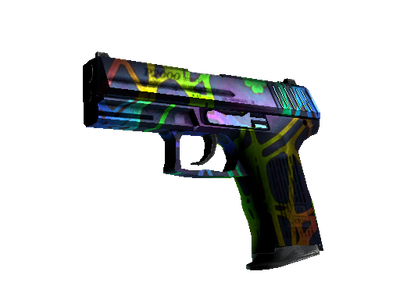 StatTrak™ P2000 | Acid Etched (Field-Tested)