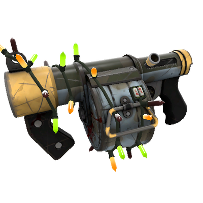 Festivized Killstreak Blitzkrieg Stickybomb Launcher (Field-Tested)
