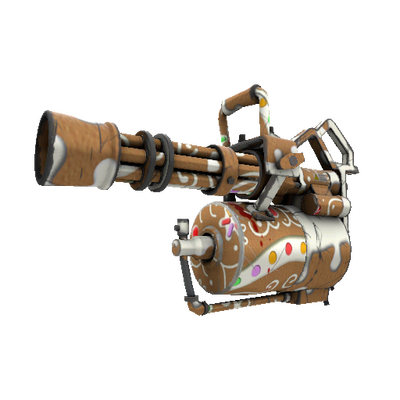 Gingerbread Winner Minigun (Field-Tested)