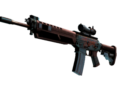 StatTrak™ SG 553 | Ol' Rusty (Battle-Scarred)