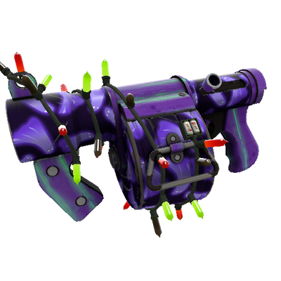 Festivized Professional Killstreak Ghost Town Stickybomb Launcher (Minimal Wear)