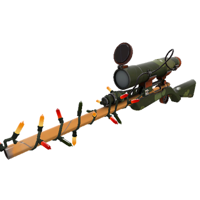 Festivized Killstreak Bogtrotter Sniper Rifle (Minimal Wear)