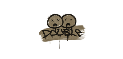 Sealed Graffiti | Double (Dust Brown)