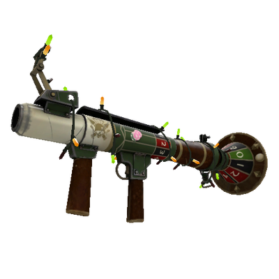 Festivized High Roller's Rocket Launcher (Minimal Wear)
