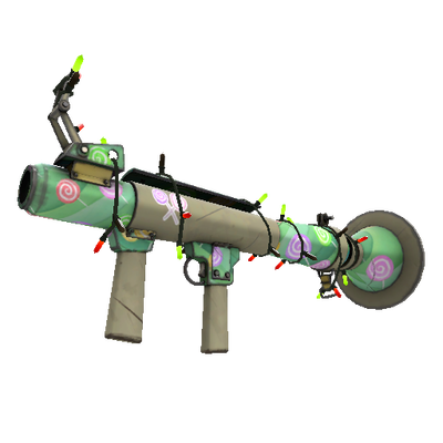 Festivized Brain Candy Rocket Launcher (Minimal Wear)