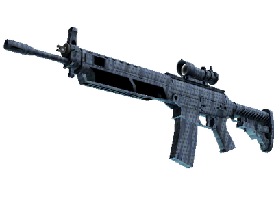 SG 553 | Waves Perforated (Minimal Wear)