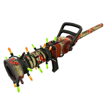 Strange Festivized Professional Killstreak Wrapped Reviver Medi Gun (Minimal Wear)