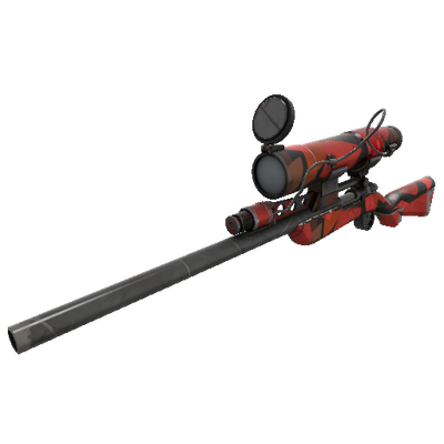 Geometrical Teams Sniper Rifle (Well-Worn)