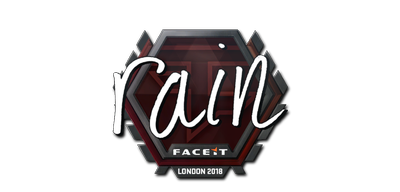 Sticker | rain | London 2018
