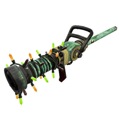 Strange Unusual Festivized Professional Killstreak Flower Power Medi Gun (Well-Worn)