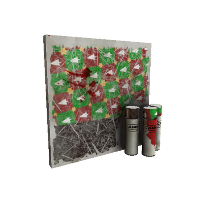 Gifting Mann's Wrapping Paper War Paint (Battle Scarred)